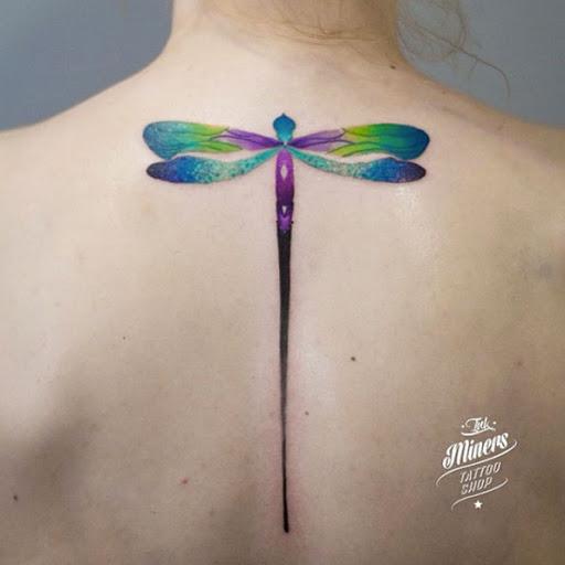 Esta libélula