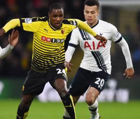 Tottenham Hotspur vs West Bromwich Albion Ngày 14/1/2017