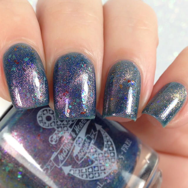 Anchor & Heart Lacquer-5 Second Rule