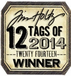 Tim Holtz' 12 tags of 2014