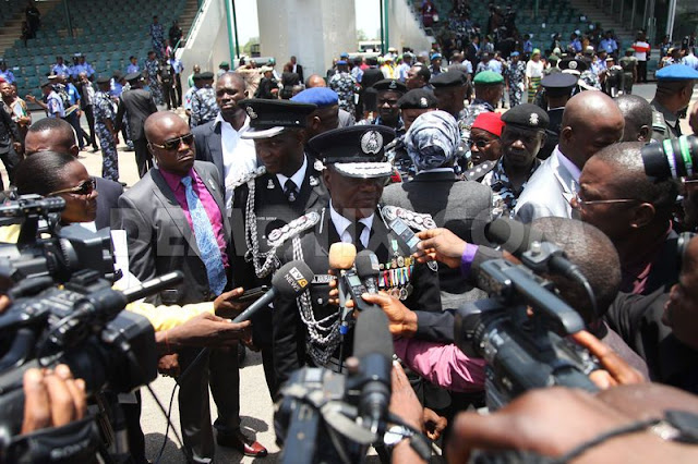 1367296933 nigeria police force performs ceremonial parade to mark police week 2006153