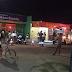 Acidente carro e moto na rua Sadi Mendes próximo ao Deoclécio Marques em Natal
