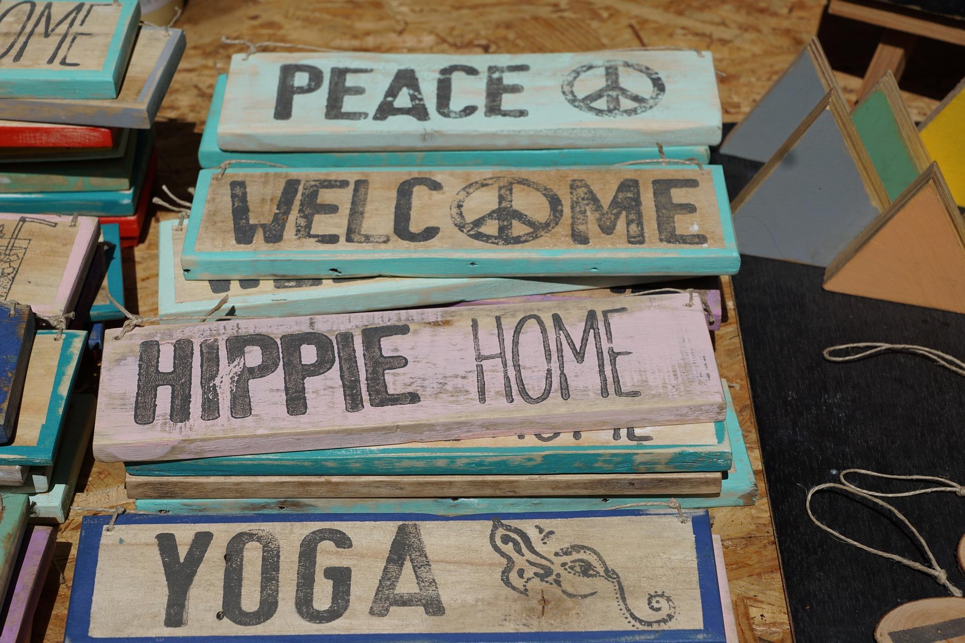 Quarto hippie