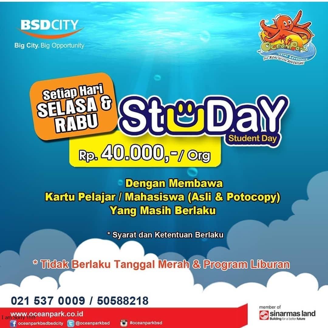 Promo Tiket Masuk Ocean Park BSD City