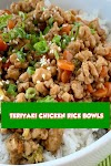 #TERIYAKI #CHICKEN #RICE #BOWLS