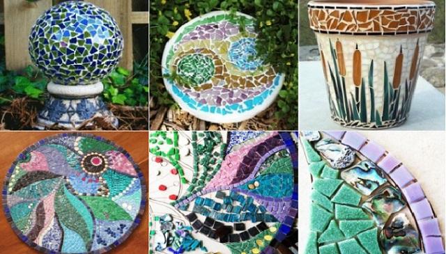 Art craft gift ideas art craft gift ideas for Mosaic ideas for the garden