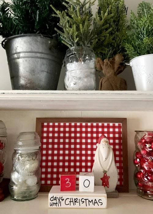 How to make DIY Christmas Countdown Blocks