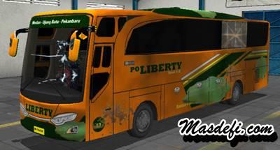 livery bussid hd po liberty kotor