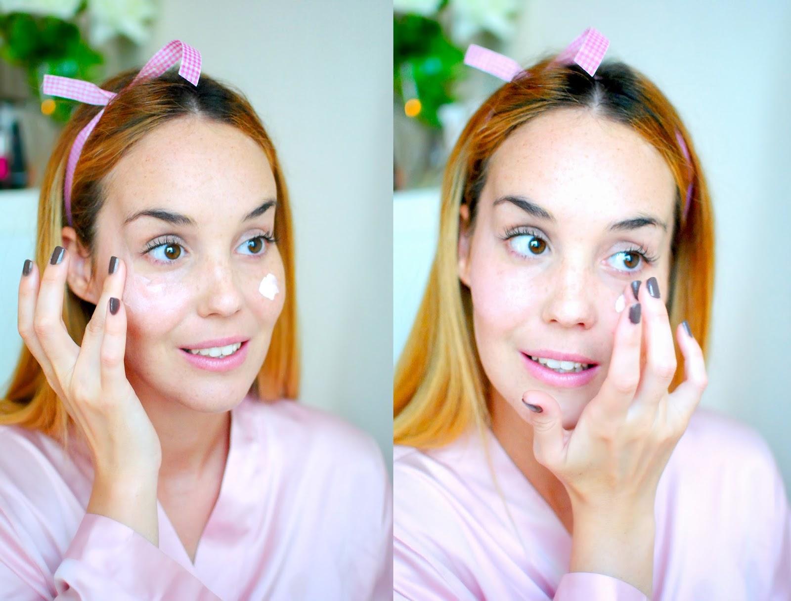 nery hdez, makeup tutorial, flormar, pin up make up tutorial, beauty , blonde,SKIN HIGHLIGHTER