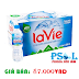 Thùng nước khoáng LAVIE 24 chai 500 ml- NƯỚC KHOÁNG LAVIE 500m