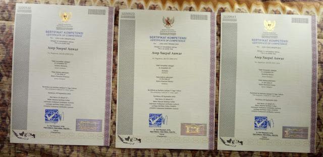 Sertifikat Uji Kompetensi Profesi Herbalis (Pratama, Madya & Utama)
