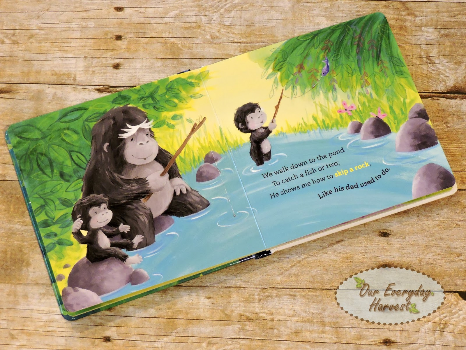 ... youngest of children. The whimsical illustrations by Rosalinda Kightley are a sight to look as we read about a grandpa gorilla and a grandma bear having ...