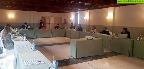 Raquel Díaz mantuvo un encuentro de trabajo con el sector textil de La Palma para abordar las acciones de 2021