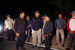 Kebakaran Lahan di Bukit  Pandanan Malaka, Bupati Turun Langsung