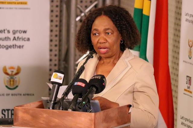 Ms Angie Motshekga as Acting President