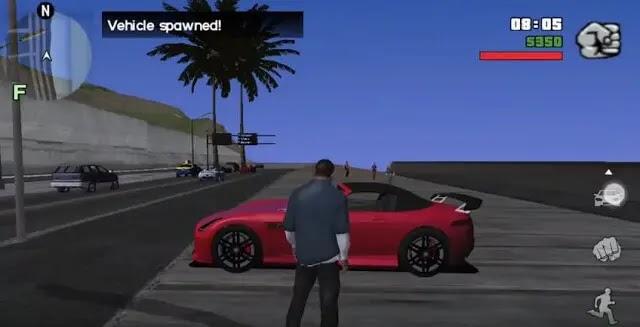 لعبة GTA 5 للاندرويد جرافيك خرافي