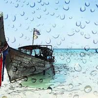 James Bond Island in the Rain or Sun