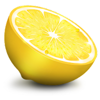 lemon fruit icons 2