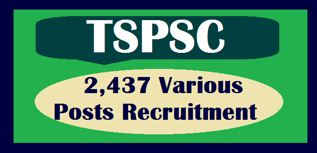 TS Jobs, TS State, TS Recruitment, TSPSC, TSPSC Recruitments