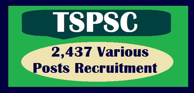 TS Jobs, TS State, TS Recruitment, TSPSC, TSPSC Recruitments