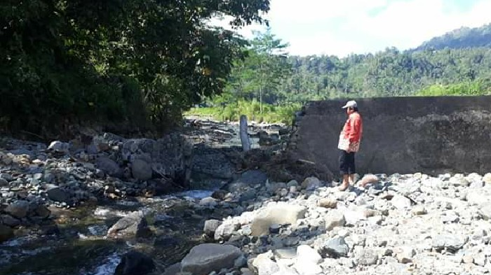 BPBD Sinjai Akan Ajukan Proposal ke BNPB Pusat Untuk Rehabilitasi Irigasi Kambuno