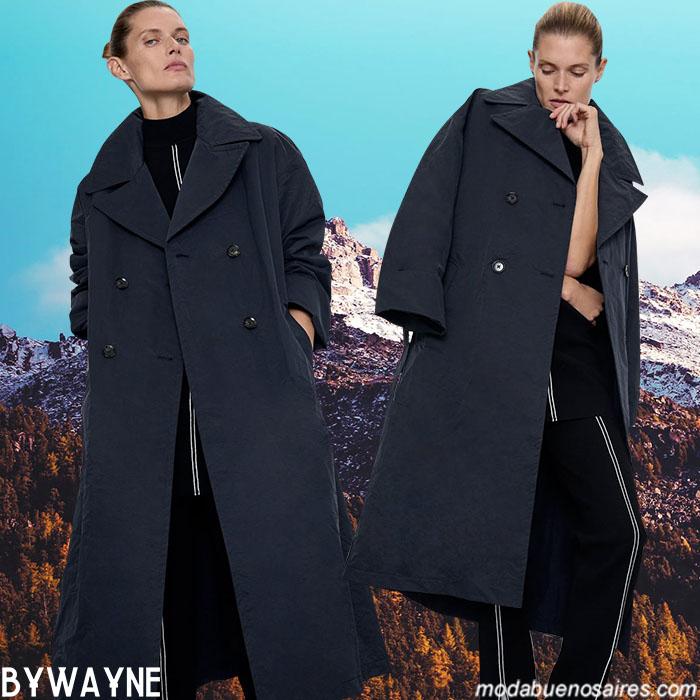 Moda invierno 2020 abrigos.