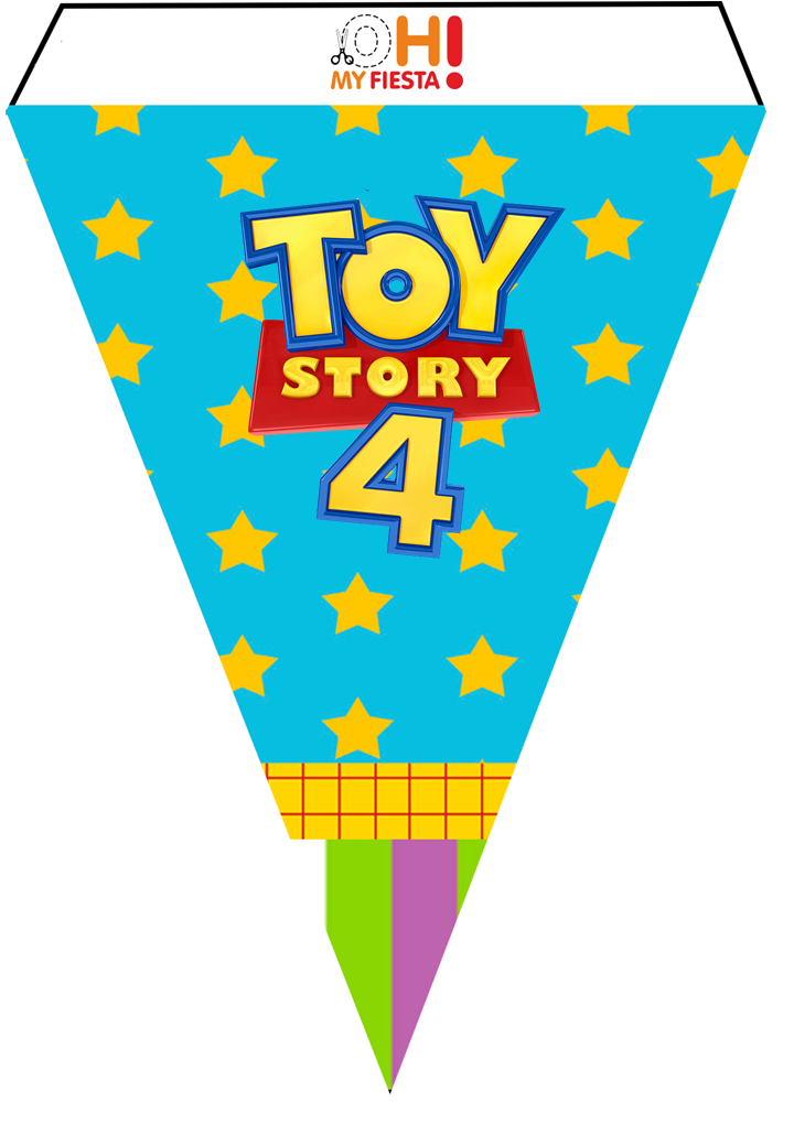 Toy Story 4 with Forky: Free Party Printables. - Oh My ...