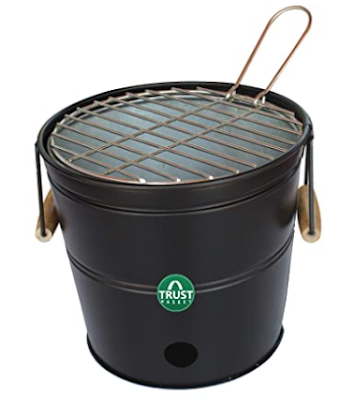 TrustBasket Portable Barbeque Bucket Set