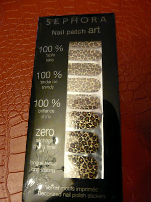 Nail Patch Art de chez Sephora
