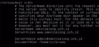 Konfigurasi Web Server Apache2