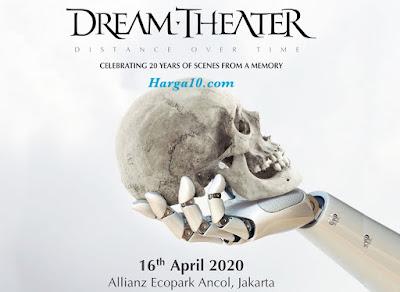 Daftar Harga Tiket Konser Dream Theater Jakarta