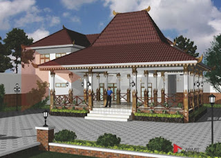 Model dan Desain Rumah Joglo
