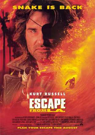 Escape From L.A 1996 BRRip 720p Dual Audio In Hindi English
