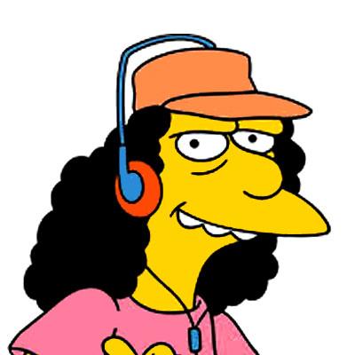 Los Simpson Personaje Otto