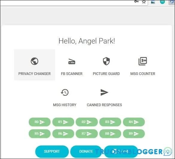 Multiple Tools for Facebook - Bảo vệ Avatar, tải tin nhắn Message...