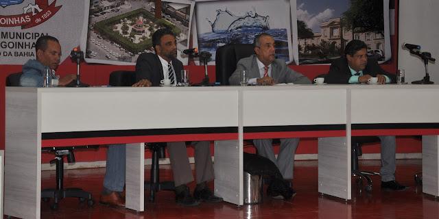 Em sessão, vereadores de Alagoinhas debatem reforma do terminal de coletivos, implantação da zona azul e situação do aterro sanitário