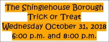 10-31 Shinglehouse Trick or Treat