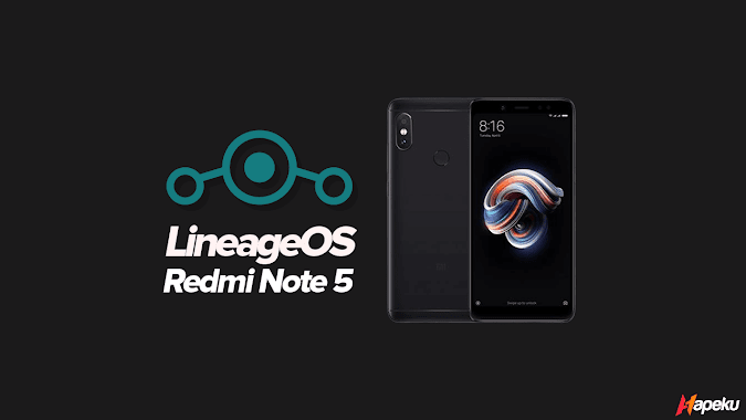 ROM Lineage OS 17.1 Xiaomi Redmi Note 5 ( WHYRED )