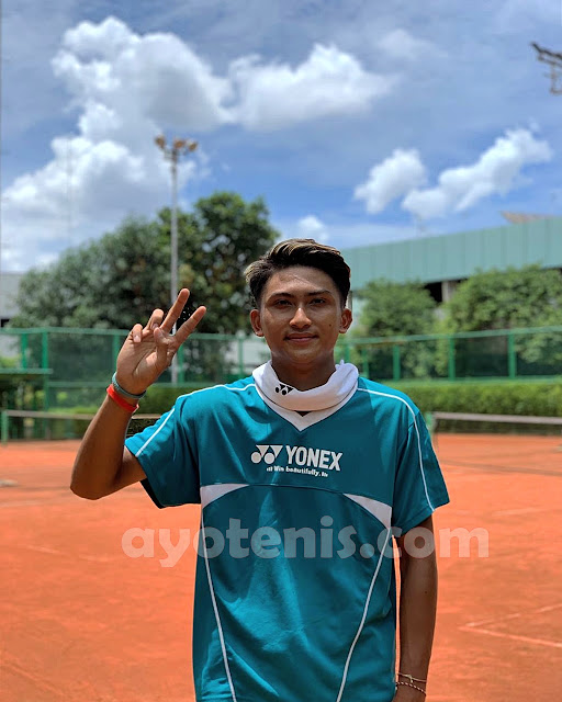 Aldo Tumbang, Nathan Barki Melangkahkan Kaki ke Putaran 2 ITF J5 Phnom Penh (Seri Kedua)