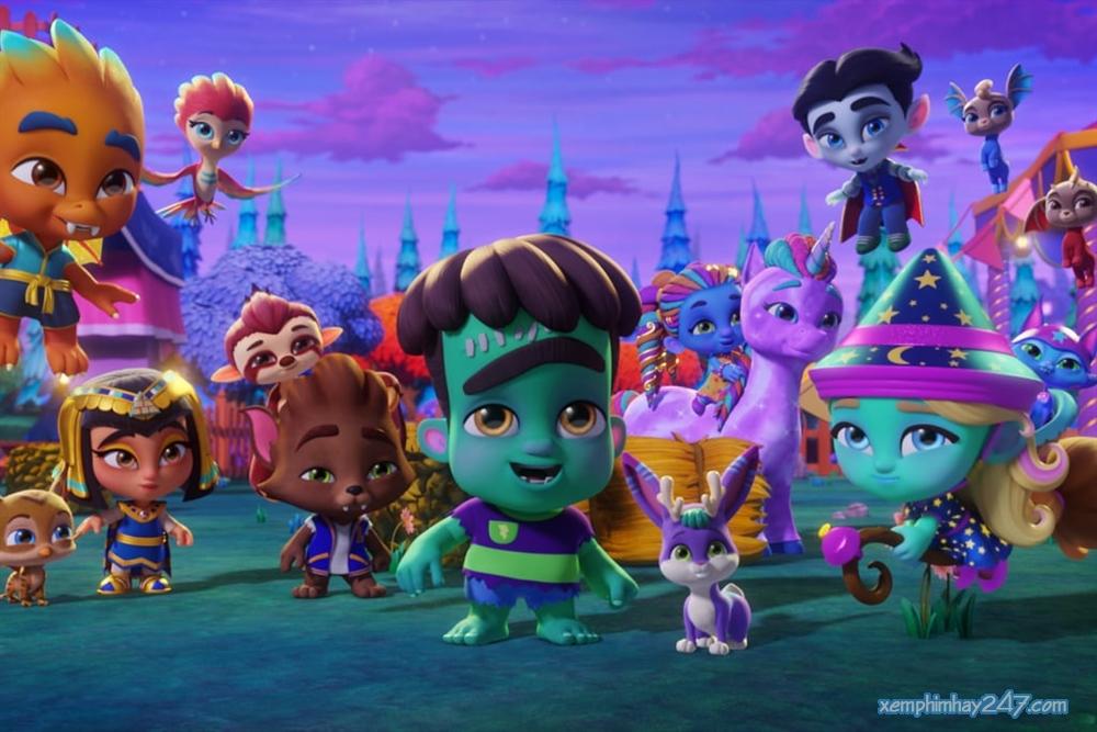 http://xemphimhay247.com - Xem phim hay 247 - Hội Siêu Quái Vật: Bạn Thân Mãi Mãi (2019) - Super Monsters Furever Friends (2019)