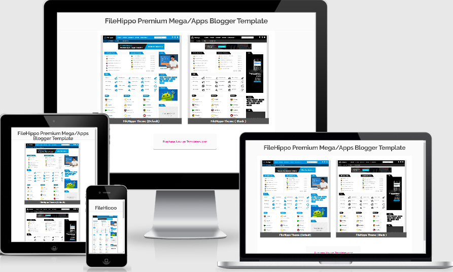Giao diện blogger FileHippo
