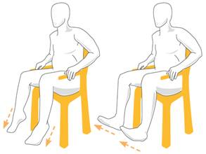 Foot Pumping Exercise For Vein Thrombosis, Gerakan pumping kaki latihan untuk trombosis vena