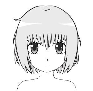 Contoh Rambut Anime Berantakan