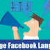 Facebook Language Changed