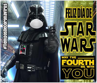 Estamos en el día de Star Wars! La guerra contra el coronavirus continúa!