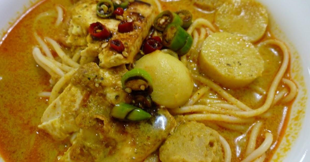 resepi mee kari  santan hirup Resepi Mee Jawa Tanpa Daging Enak dan Mudah