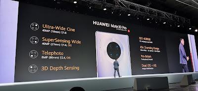 كاميرات هاتف هواوي HuaweiMate30Pro