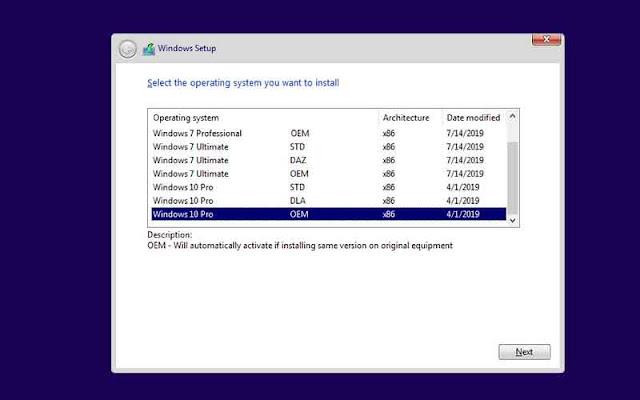Windows 7 10 X86 X64 18in1 DUAL BOOT en-US JULY 2019