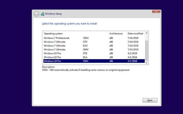 Windows 7 10 X86 X64 18in1 DUAL BOOT en-US JULY 2019 - Link Torrent