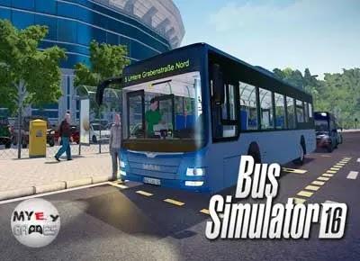 شرح حول لعبة Bus Simulator 16 محاكي الباصات للكمبيوتر من ميديا فاير